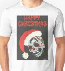 Sugar Skull- Happy Christmas T-Shirt