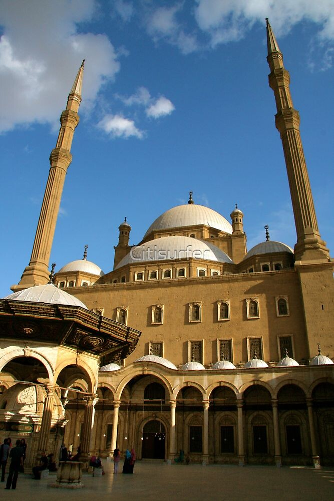 Muhammad Ali Mosque, Egypt by Citisurfer