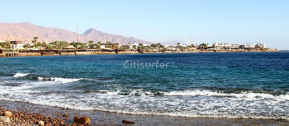 Dahab on the Red Sea by Citisurfer