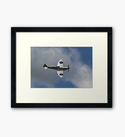 The Fly Past Framed Print