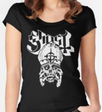 Ghost | Papa Emeritus - Decomposing Women's Fitted Scoop T-Shirt