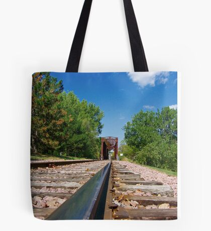 Lonesome Rails Tote Bag