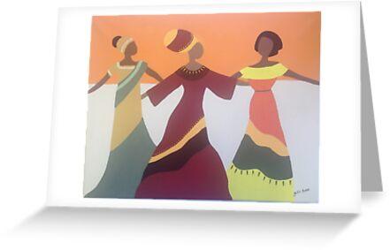 Dancing Ladies by Julie Anne