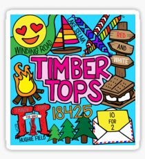 Timber Tops  Sticker