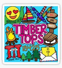 Timber Tops  Sticker