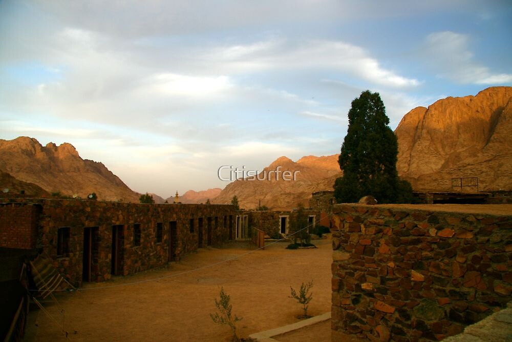 St Katherines, Sinai by Citisurfer