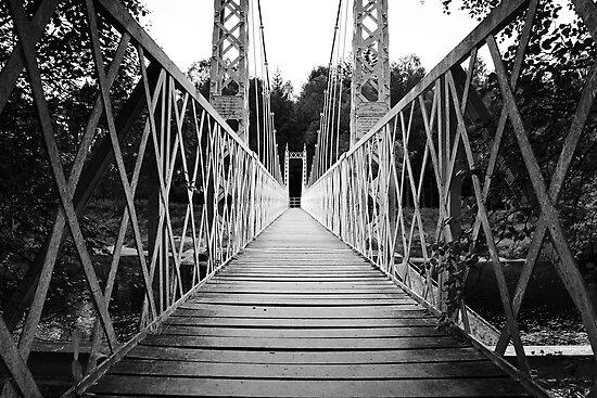 Suspension Bridge (Cambus O' May, Aberdeenshire) by MelissaSue