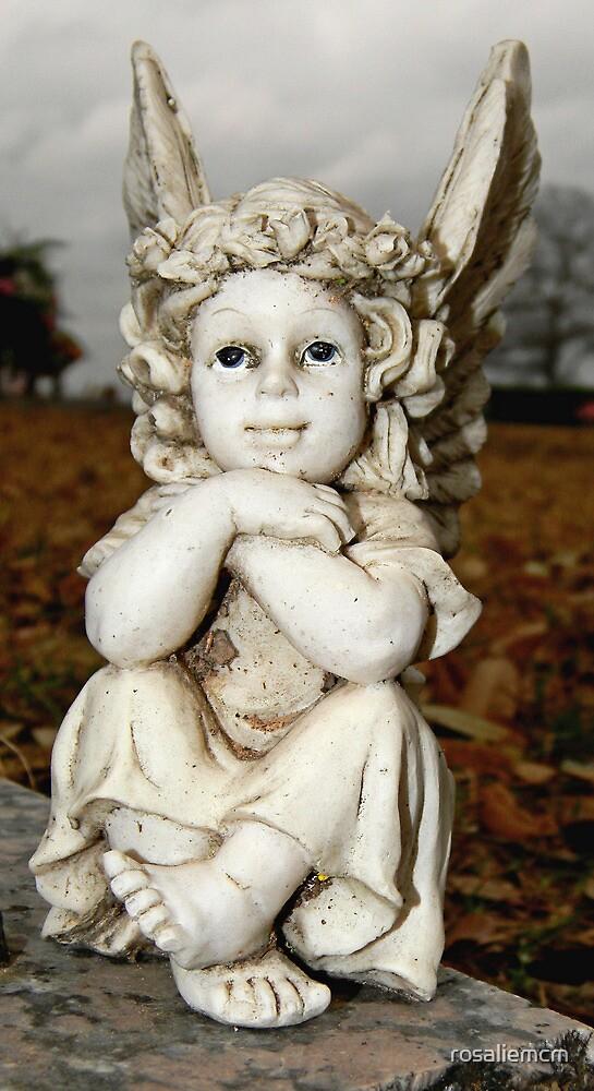 Angel  by rosaliemcm
