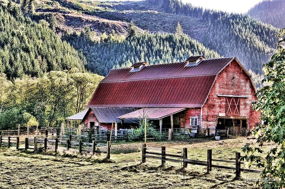 Barn on Horton Road by jeanniechris