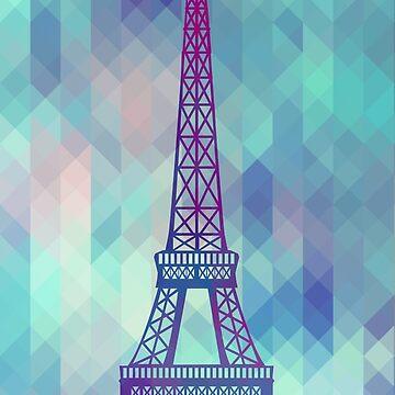 Eiffelturm Paris von MartaOlgaKlara