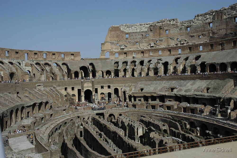 Colosseum 2 by Anne Sidnell
