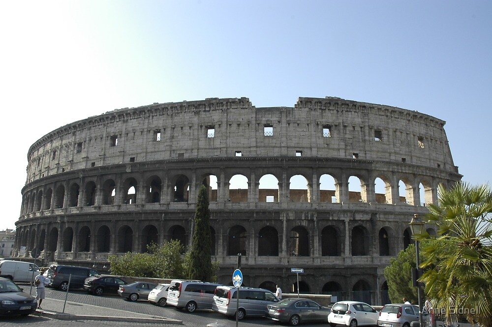Colosseum 3 by Anne Sidnell