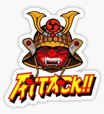 SAMURAI ATTACK!! Sticker