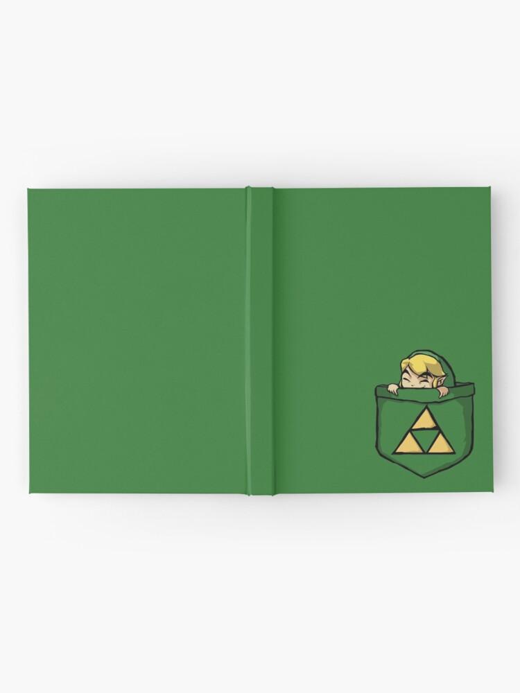 Alternate view of Legend of Zelda - Pocket Link Hardcover Journal