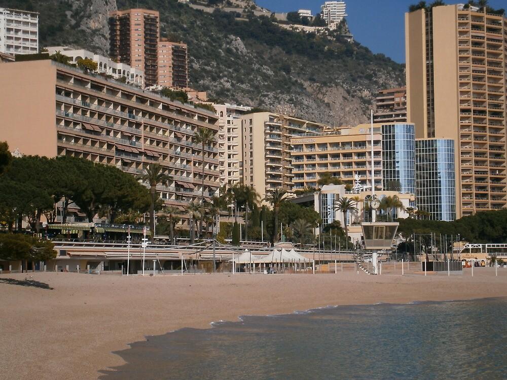 Monte carlo beach,Monaco by julianopereira