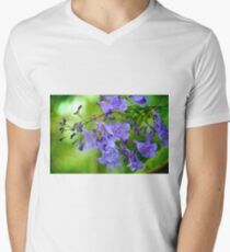 Jacaranda Blossoms Men's V-Neck T-Shirt