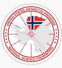 ANTARCTICA - USA/Norway Sticker