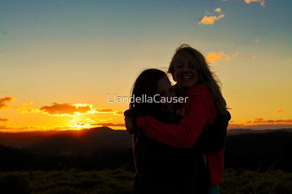 Best Friends by LlandellaCauser