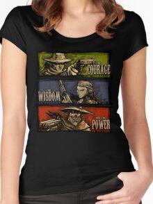 Spaghetti Hylian Women's Fitted Scoop T-Shirt
