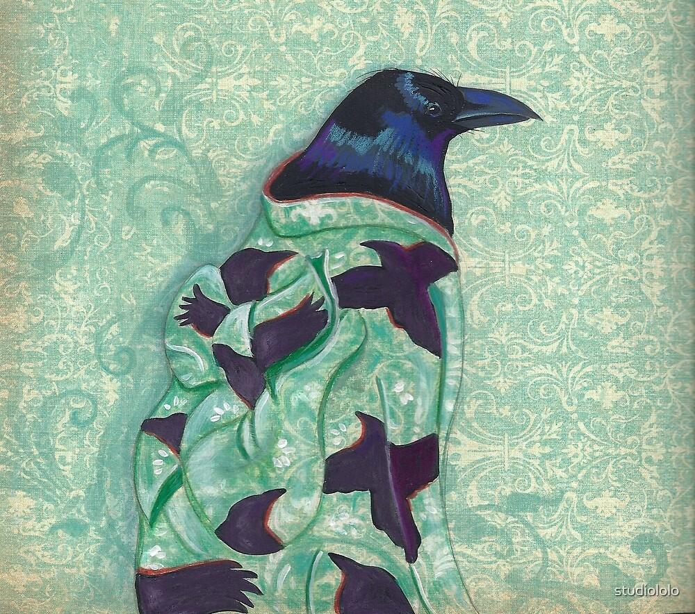 Corvid Kimono by studiololo