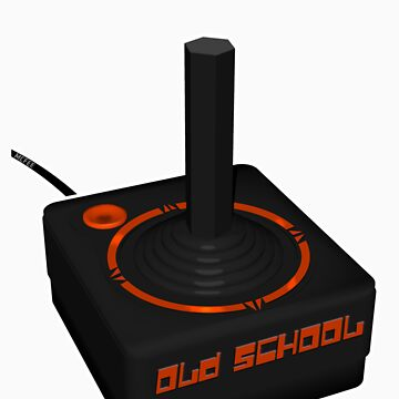 Joystick Gamer - Old School by pulpfaction