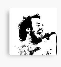 Lead Singer  Canvas Print