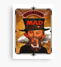 Steampunk MAD Canvas Print