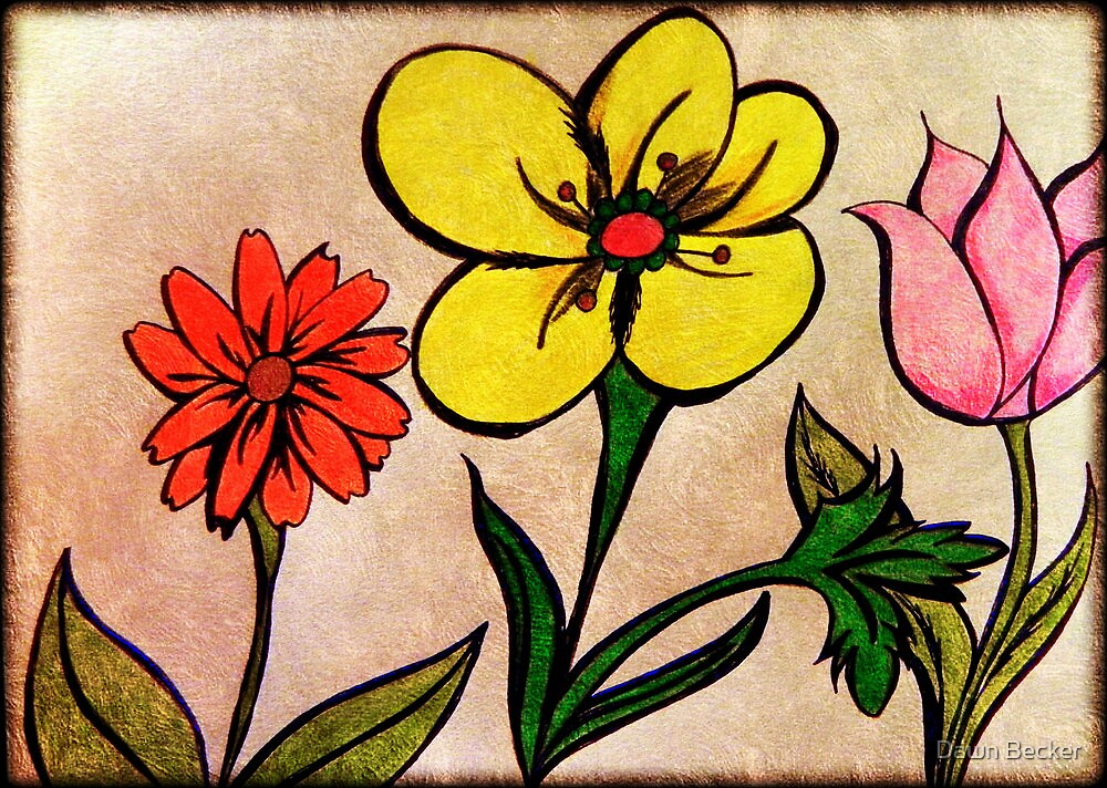 Flowers © by Dawn Becker
