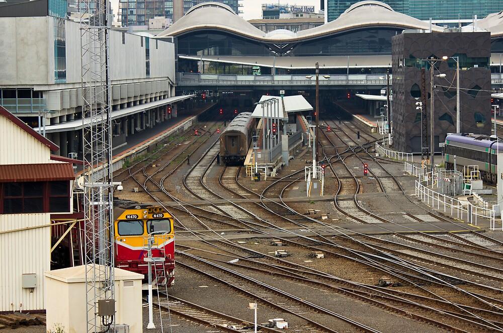 Southern Cross Station by Paul Hyland