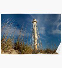 Boca Grande Florida, abandoned lighthouse Poster