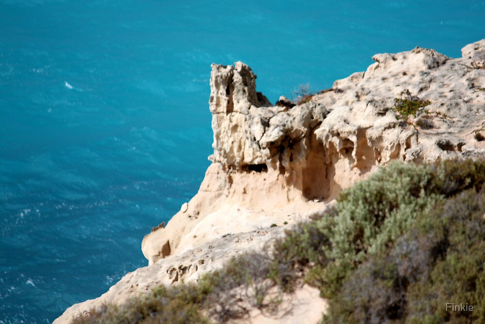 Rock Formations Great Australian Bight by Finkie