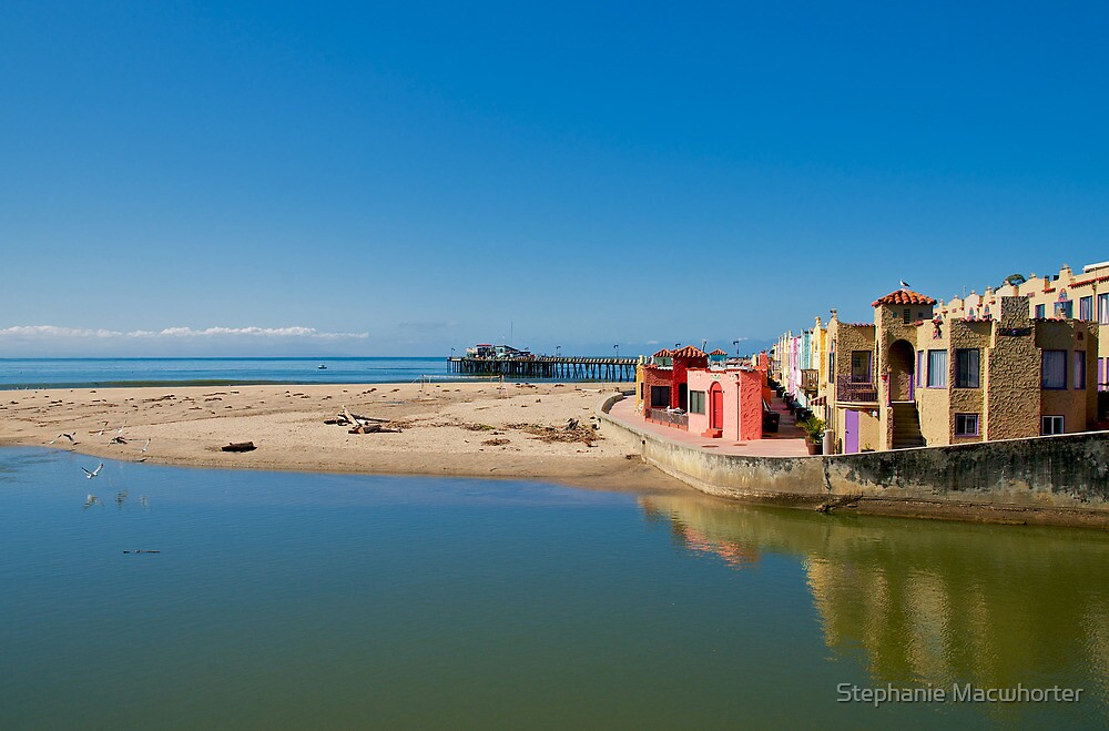 Capitola Riverview to Beach by Stephanie Macwhorter