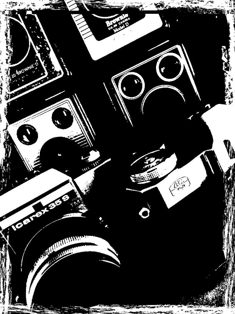 Vintage Cameras by Keith G. Hawley
