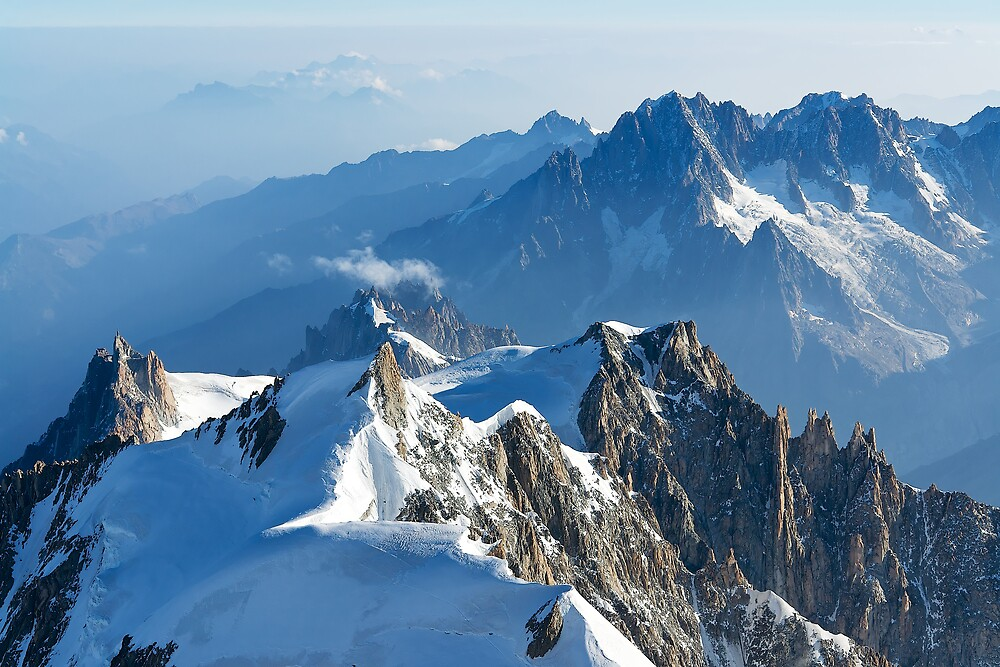 Massif du Mont Blanc VII by Tom Fahy