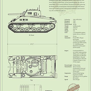 Sherman Tank by billchodubski