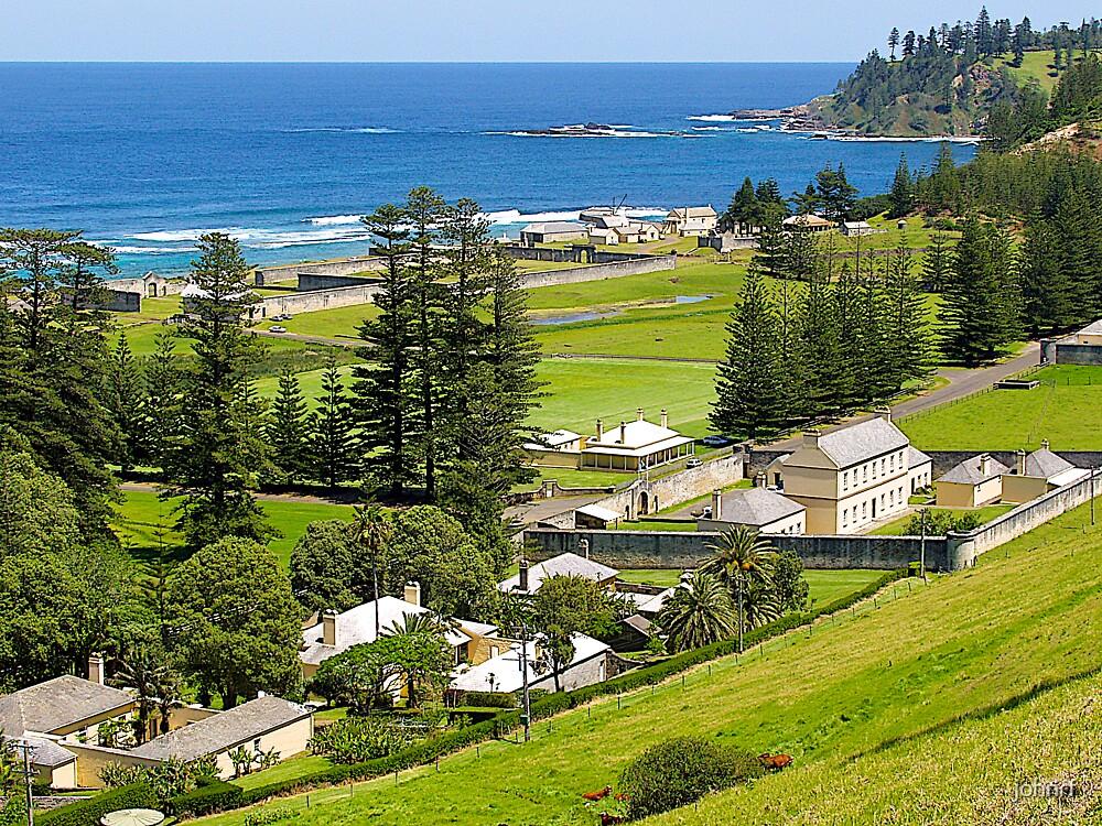 Former Penal Settlement. Norfolk Island. by johnrf