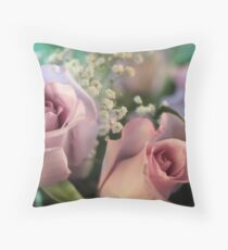 Moon Fleur ~ Luna Rose Throw Pillow