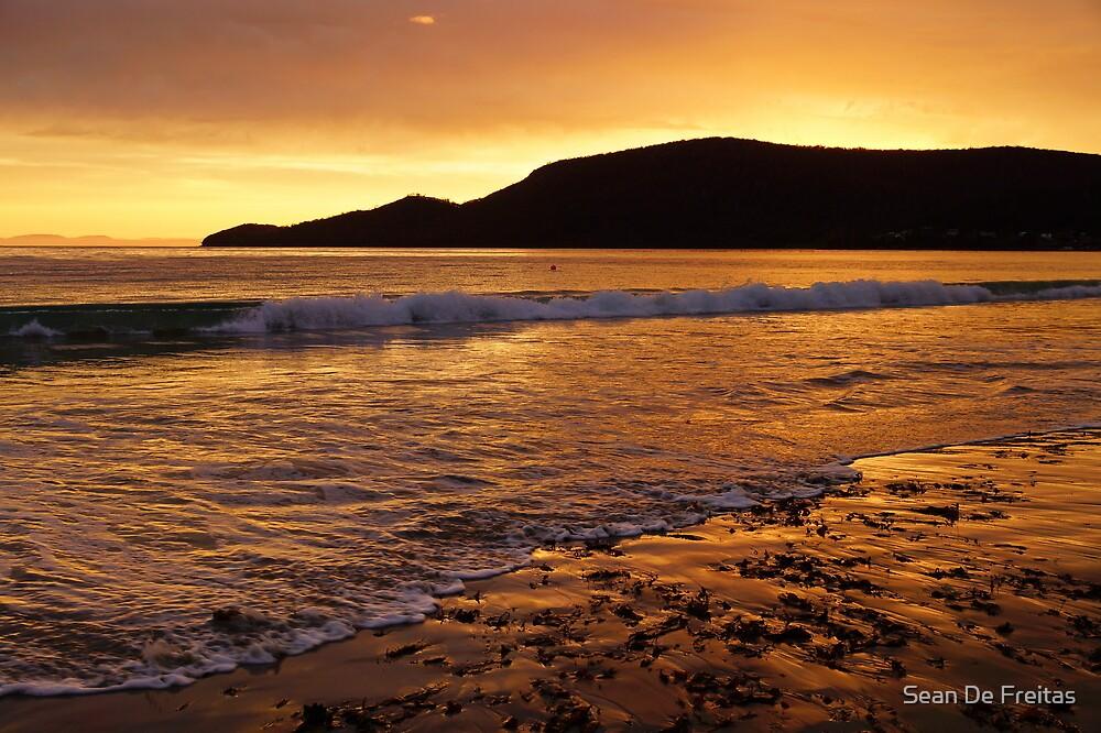 Sunrise on Adventure Bay Beach - Bruny Island, Tasmania, Australia by PC1134