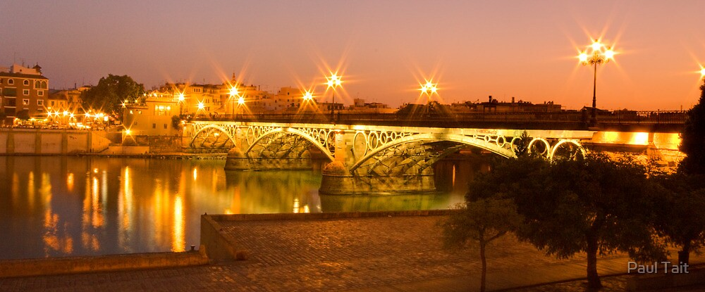 Sevilla Dusk by Paul Tait