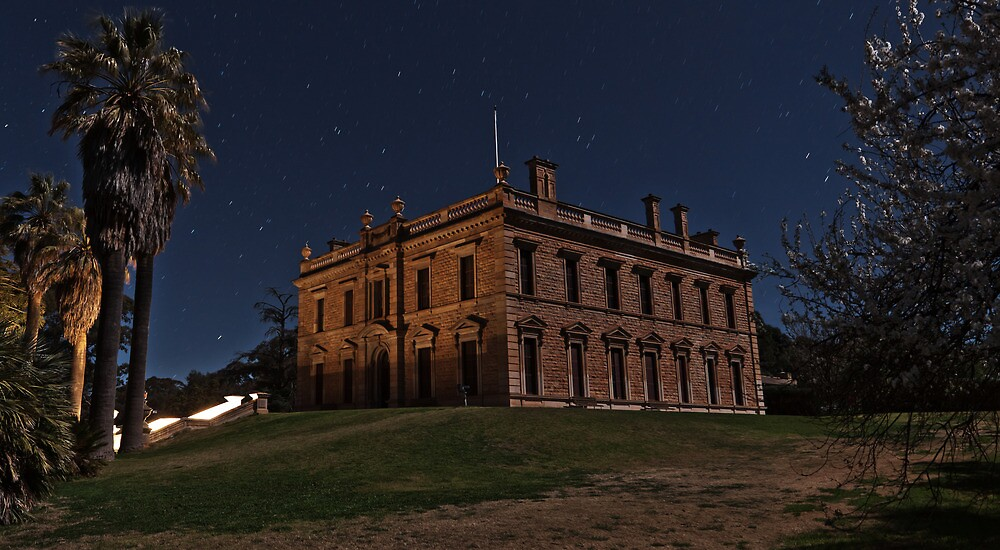 Martindale Hall in Moonlight by pablosvista2