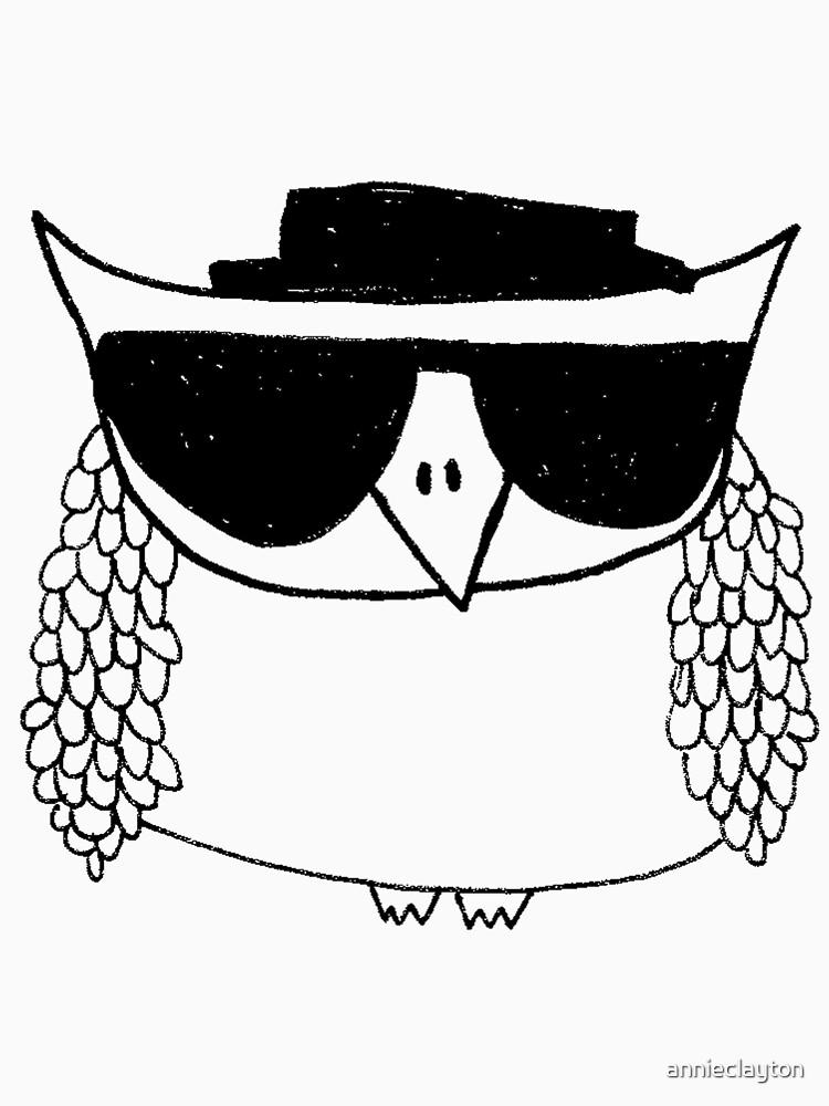Heisenberg, the owl by annieclayton