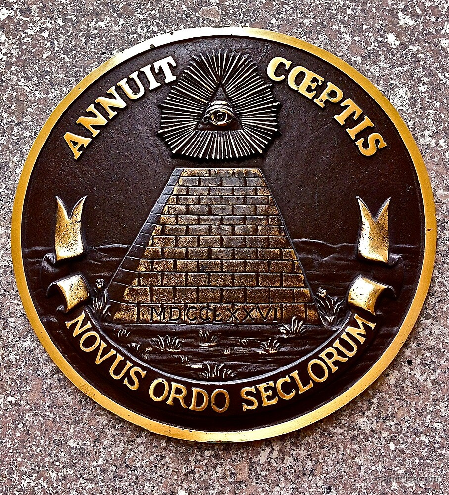 Reverse of the Great Seal of the United States of America by cammisacam