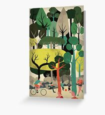 We are Trees Greeting Card