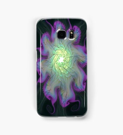 Iphone case - Gnarly Mother of Pearl Flower Samsung Galaxy Case/Skin