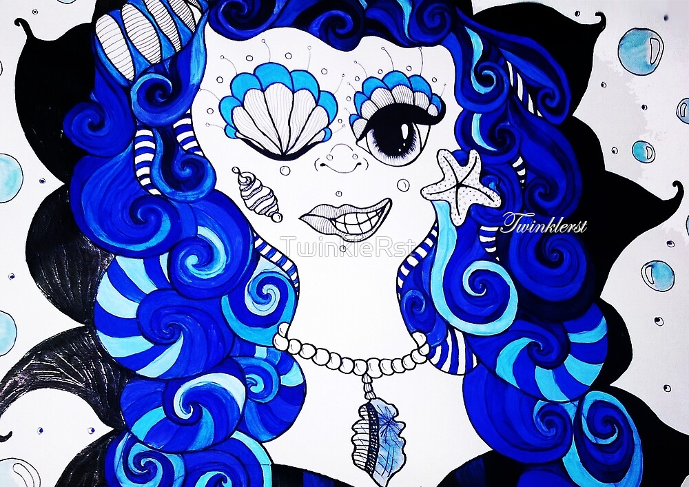 Bluemaid- 2014  by TwinkleRst