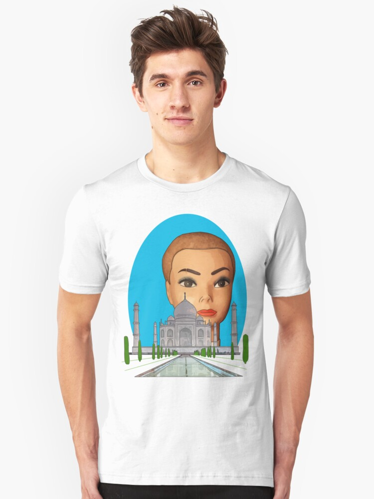 head of the taj mahal Unisex T-Shirt Front