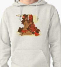 Volcano Goddess Pullover Hoodie