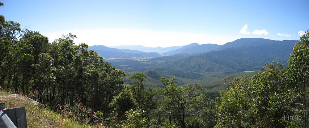 Heales Lookout, North of Cairns by Finkie