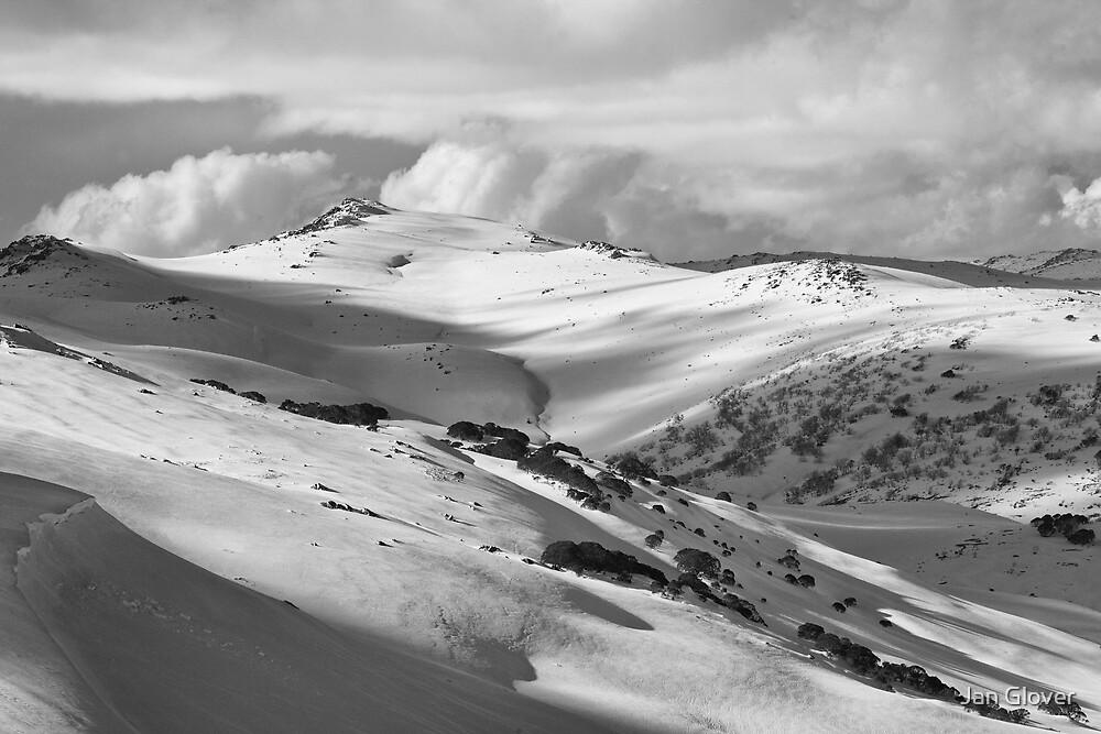 Mt Tate, Kosciuszko National Park by Jan Glover