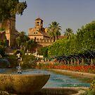 Cordoba, Alcázar de los Reyes Cristianos gardens by Paul Tait